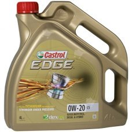 Castrol EDGE 0W-20 C5 4L