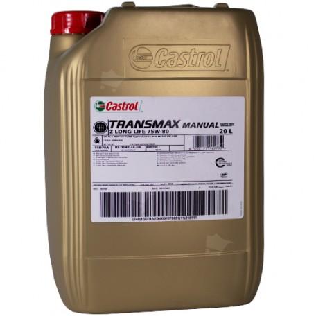Castrol Transmax Manual Z Long life 75W-80 20L