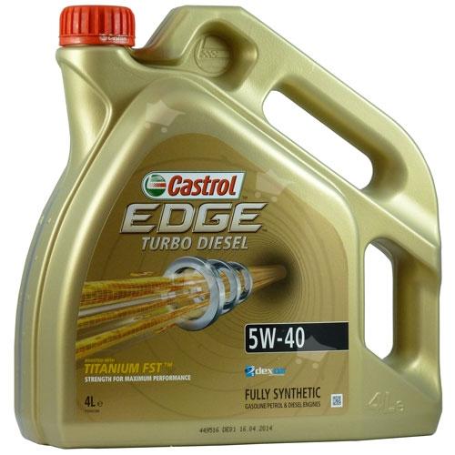 castrol edge turbo diesel 5w 40 ti fst 4l. Black Bedroom Furniture Sets. Home Design Ideas