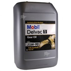 Mobil Delvac 1 Gear Oil 75W-90 20L