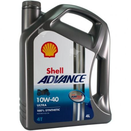 Shell Advance 4T Ultra 10W-40 4L